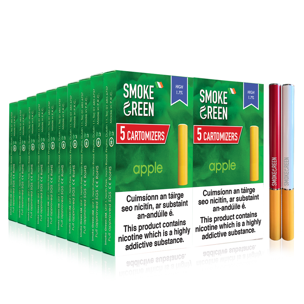 20 Boxes of Cartomizers + 2 batteries