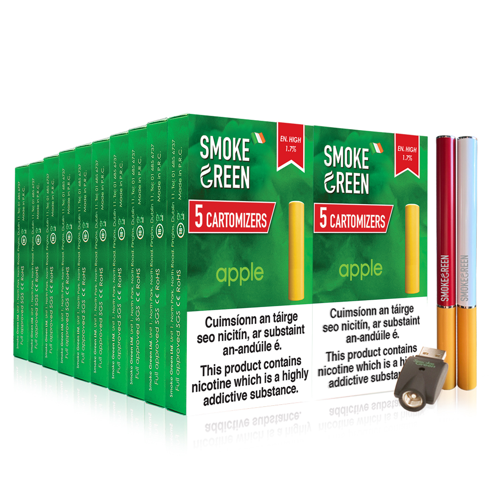 20 Boxes of Cartomizers + 2 batteries & USB