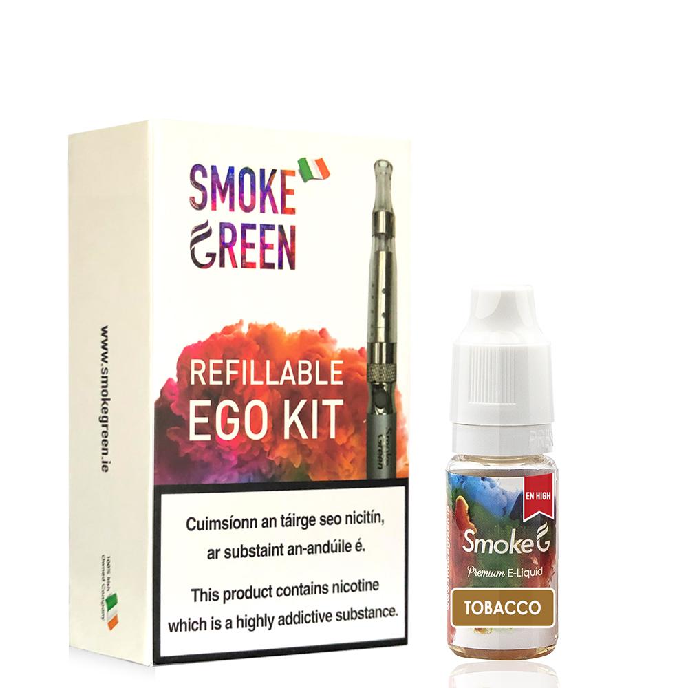 Ego Kit Bundle with free Liquid